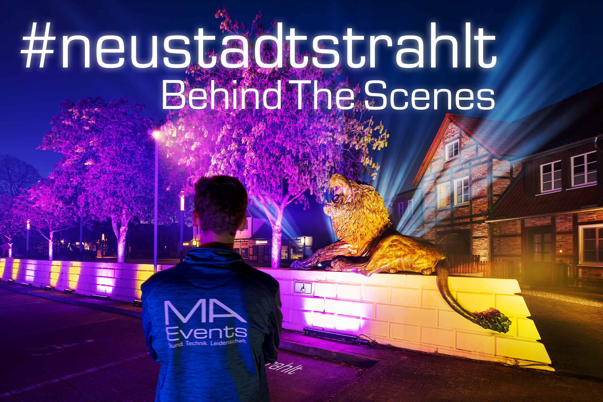 #neustadtstrahlt – Behind The Scenes
